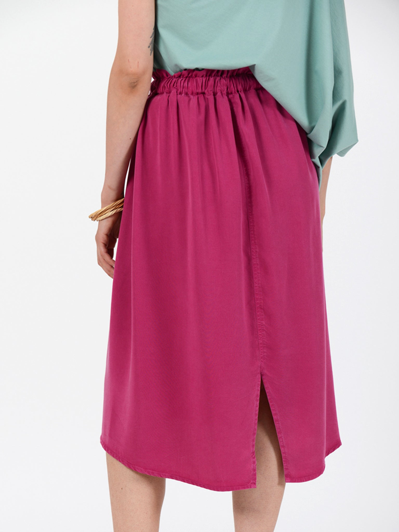 Reality Studio Zohra skirt Raspberry