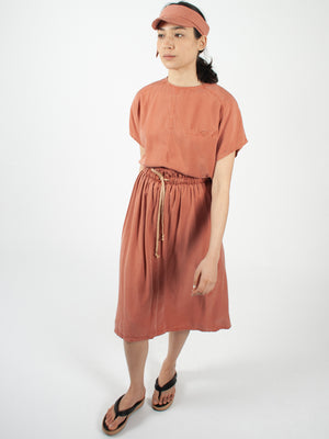 Reality Studio Zohra skirt redwood