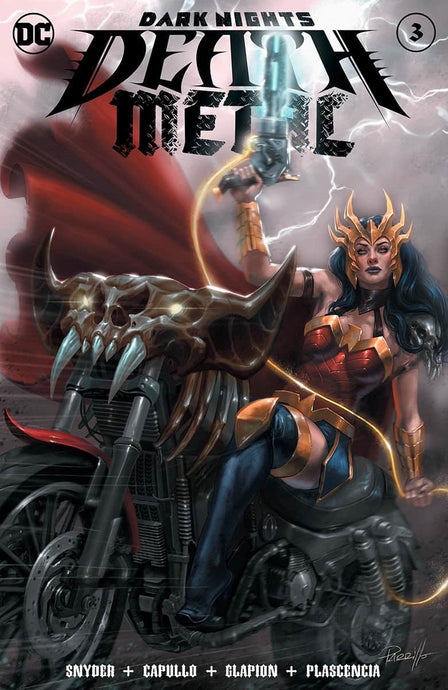 Dark Nights: Death Metal #3 Lucio Parrillo Variant TRADE 8.29.20