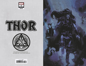 Thor #5 (3rd Print) Klein VIRGIN Cover