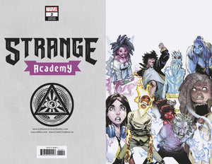 Strange Academy #2 (4th Print) VIRGIN 10.22.20