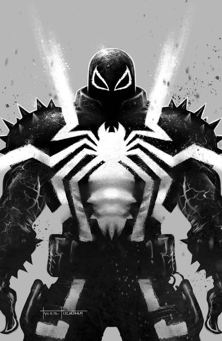 Venom #29 Tyler Kirkham Black and White NEGATIVE VIRGIN Variant