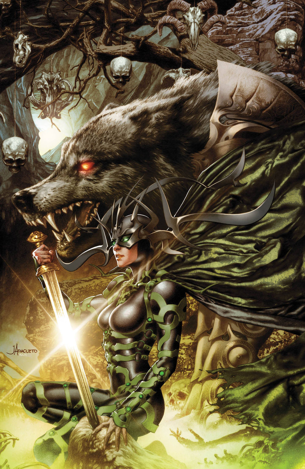 Thor #11 SLHLA Exclusive Jay Anacleto VIRGIN VARIANT