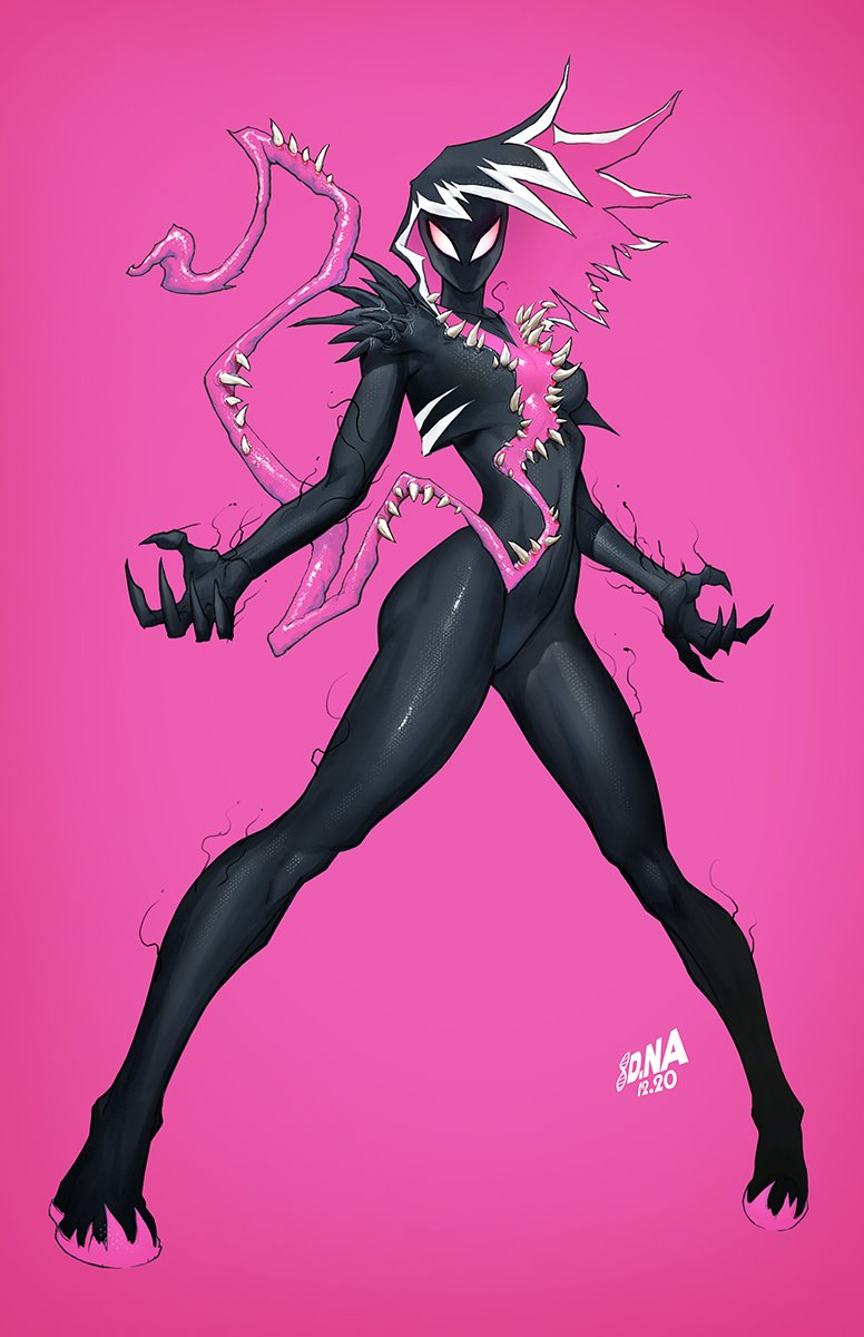 King in Black Gwenom vs Carnage 1 VIRGIN 2.12.21
