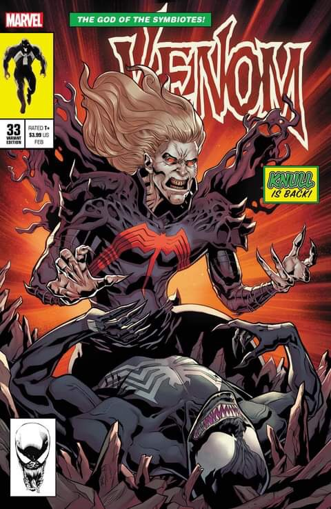 VENOM #33 SLHLA Will Sliney EXCLUSIVE VAR TRADE