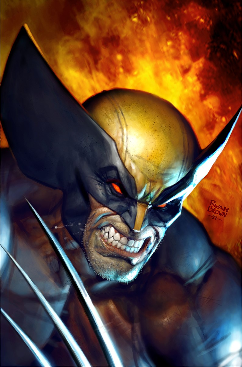 Wolverine #10 Ryan Brown VIRGIN VARIANT 3.5.21