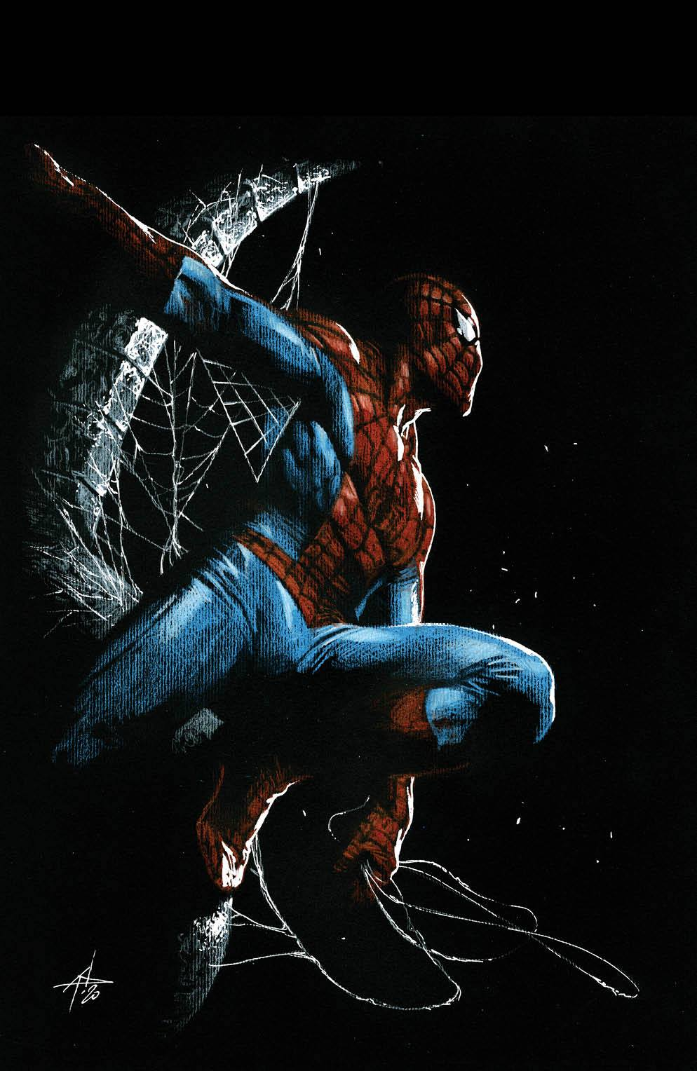 Non-Stop Spider-Man 1 SLHLA Dell'Otto VIRGIN Variant  3.22.21