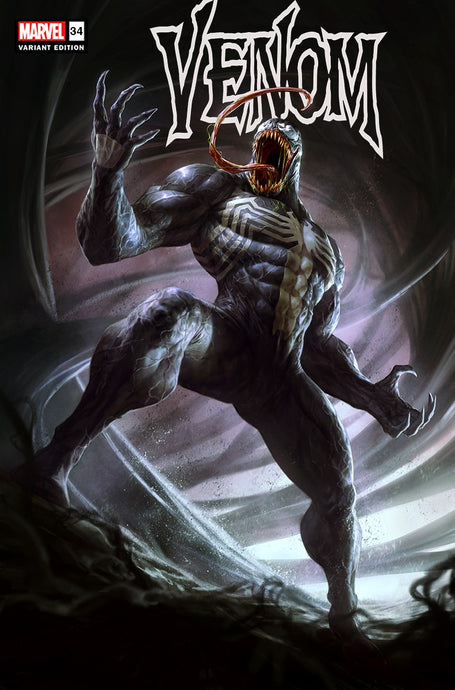 VENOM #34 SLHLA Dave Rapoza EXCLUSIVE VAR TRADE 4/14/21