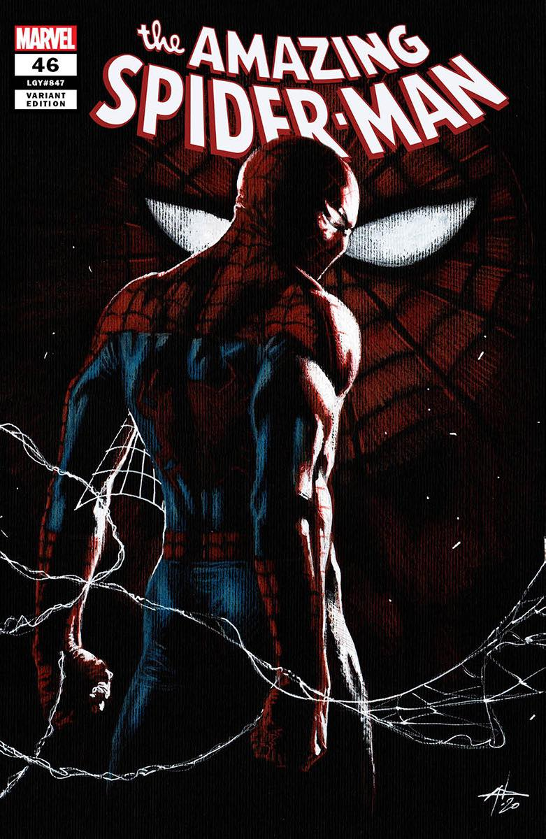 Amazing Spider-Man #46 (Cover by Dell'Otto) Trade Dress Cover A