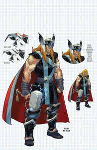 Thor #3 (3rd Print) Virgin Variant Cover