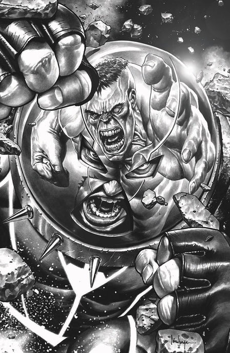 JUGGERNAUT #1 Cover B Greyscale by Mico Suayan