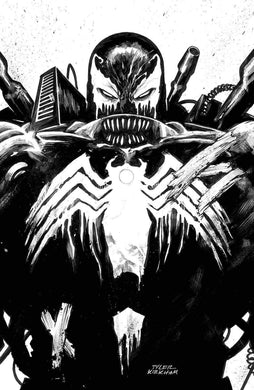 Venom #26 Street Level Hero Exclusive Ink Variant Cover by Tyler Kirkham