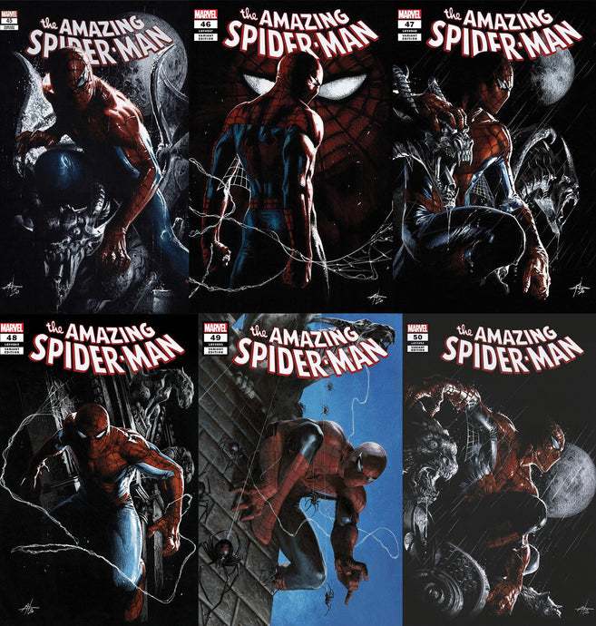 Amazing Spider-Man 45, 46, 47, 48, 49, 50.  (6-PACK Dell Otto BUNDLE)