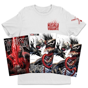 Venom #28 Masked Vigilante DUSTED Bundle