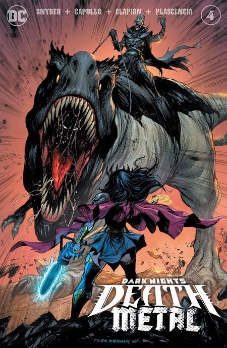 Dark Nights: Death Metal #4 Tyler Kirkham TRADE