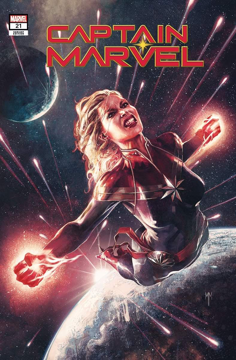 Captain Marvel #21 Marco Mastrazzo TRADE