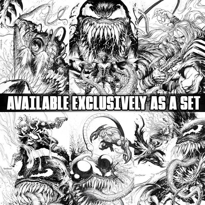 VENOM BEYOND Special Edition Secret BLACK and WHITE SET