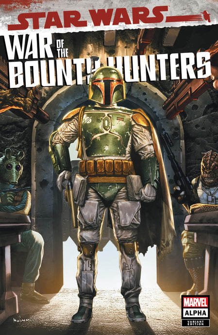 Star Wars: War of Bounty Hunters Alpha #1 by Mico Suayan TRADE 05.19.21