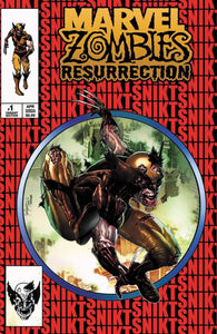 Marvel Zombies Resurrection #1 Mico Suayan TRADE Cover