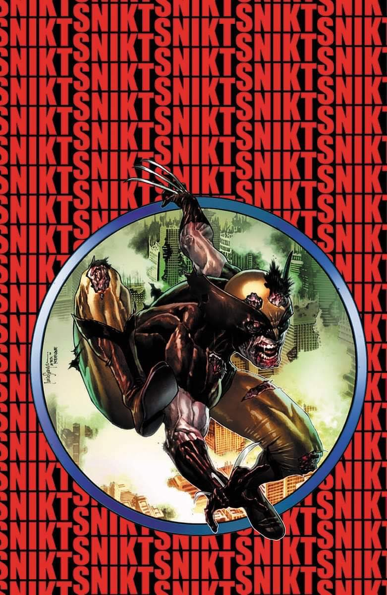 Marvel Zombies Resurrection #1 Mico Suayan VIRGIN Cover