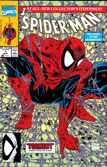 Spider-Man Vol 1 1 (Todd Mcfarlane)