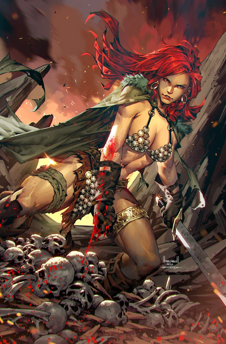 RED SONJA AGE OF CHAOS #5 KAEL NGU EXCLUSIVE