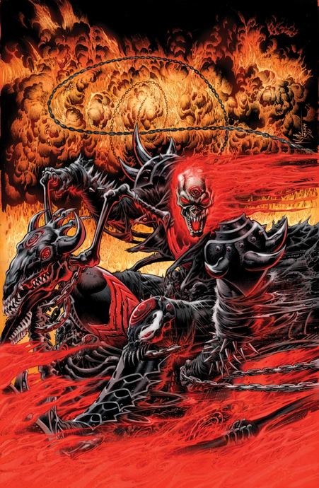 GHOST RIDER ANNUAL #1 KNULLIFIED EXCLUSIVE VIRGIN VAR (1/10/2020)