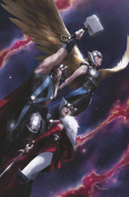 Load image into Gallery viewer, Thor #10 SLHLA Miguel Mercado VIRGIN Variant Cover