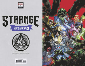Strange Academy #1 (4th Print) VIRGIN