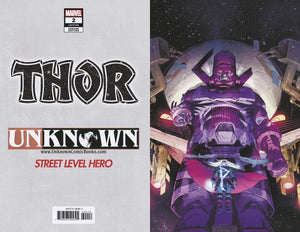 Thor #2 4th Print VIRGIN Variant