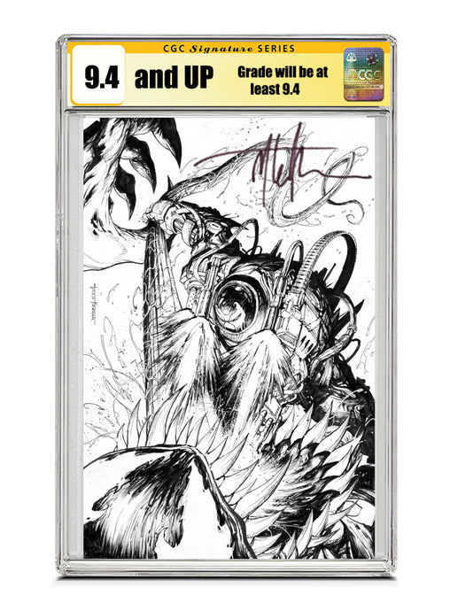 Venom #27 SECRET COVER Signed by Tyler Kirkham CGC 9.4 or higher Guaranteed Jan/Feb 2021