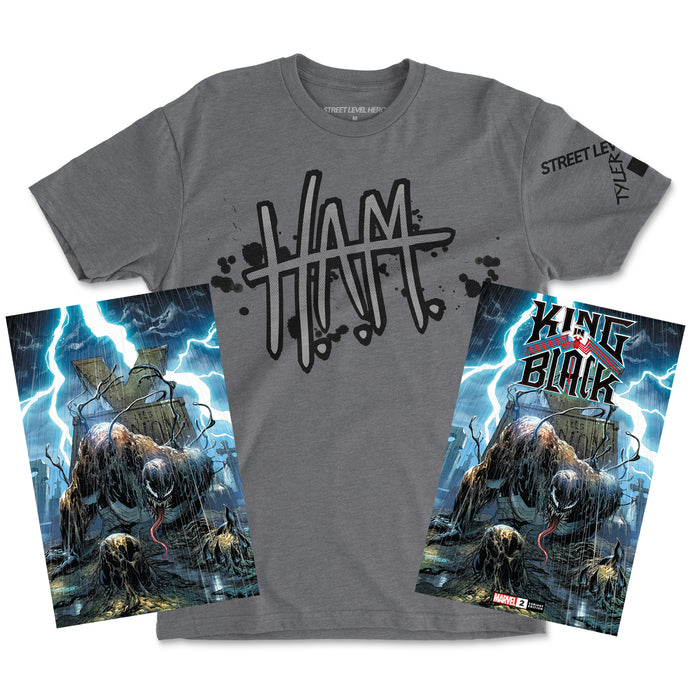 King in Black 2//H.A.M. Bundle c/o Tyler Kirkham 1.02.20