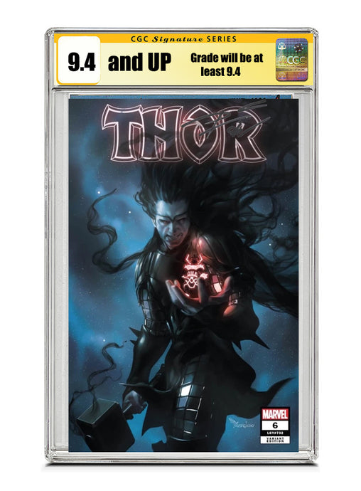 Thor #6 TRADE Signed by Donny Cates CGC 9.4 or higher Guaranteed Jan/Feb 2021