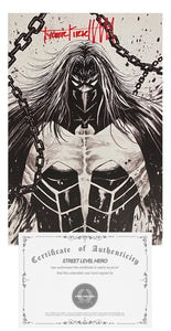 "COA Tyler Kirkham ""HAM"" Signature  Venom #27 Black and White NEGATIVE VIRGIN Variant"