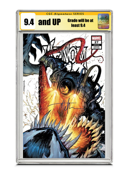 Venom #27 SECRET TRADE Signed by Tyler Kirkham CGC 9.4 or higher Guaranteed Jan/Feb 2021