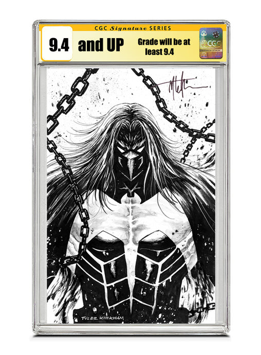 Venom #27 B&W Signed by Tyler Kirkham CGC 9.4 or higher Guaranteed Jan/Feb 2021