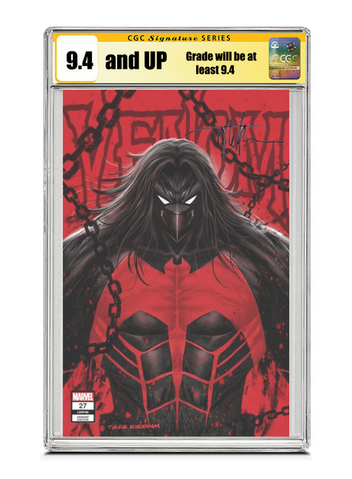 Venom #27 NEGATIVE TRADE Signed by Tyler Kirkham CGC 9.4 or higher Guaranteed Jan/Feb 2021