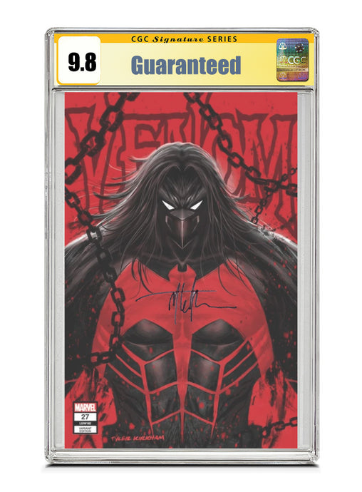 Venom #27 NEGATIVE TRADE Signed by Tyler Kirkham CGC 9.8 Guaranteed Jan/Feb 2021