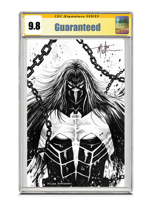 Venom #27 B&W Signed by Tyler Kirkham CGC 9.8 Guaranteed Jan/Feb 2021