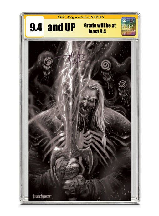 Venom #28 KNULL GREY VARIANT Signed by Tyler Kirkham CGC 9.4 or higher Guaranteed Jan/Feb 2021