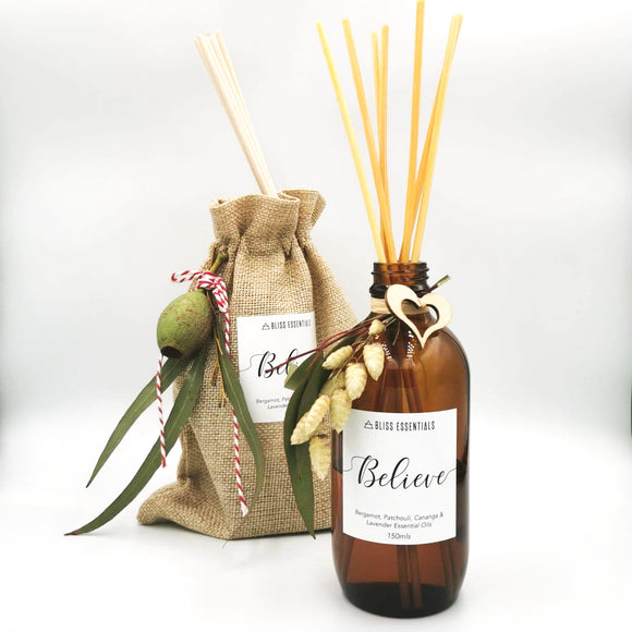 Believe Reed Diffuser - BlissEssentials_au