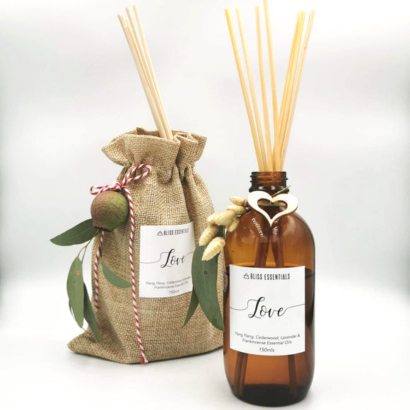 Love Reed Diffuser - BlissEssentials_au