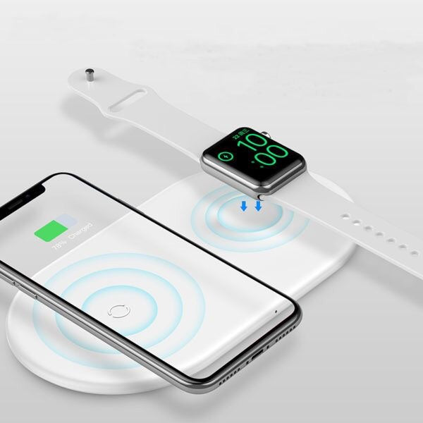 2 in 1 Wireless Charger