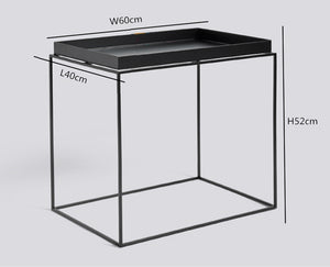 Modern Steel Table