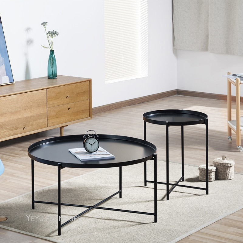 Modern Tray Side Table