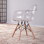 Transparent Dining Armchair