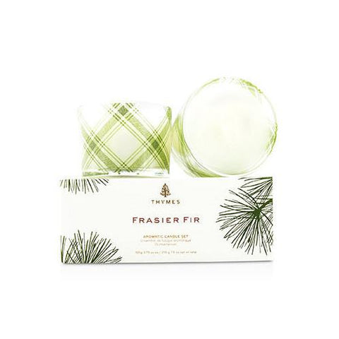 Aromatic Candle Set - Frasier Fir 2x105g/3.75oz