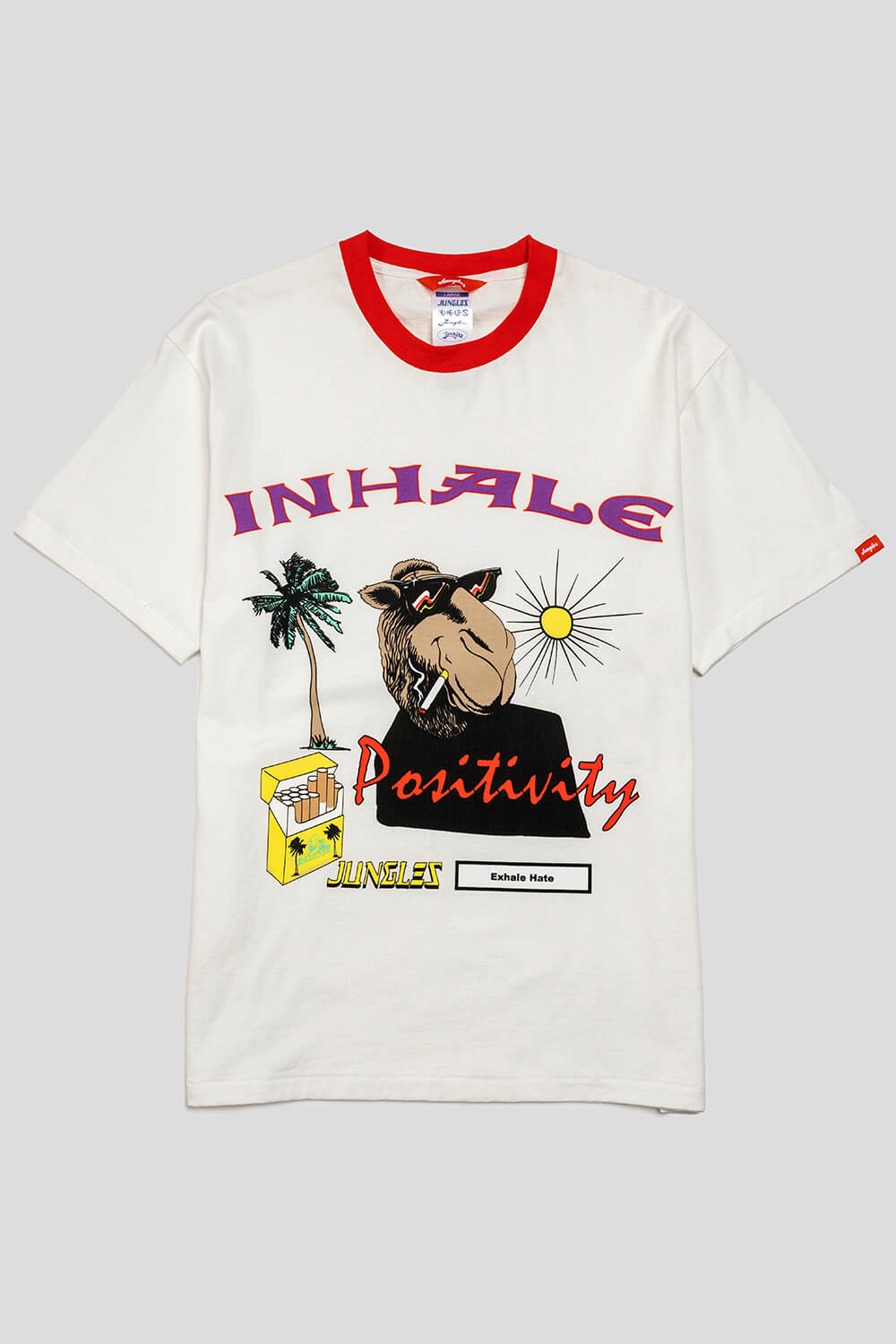 Inhale Positivity Tee