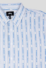 Load image into Gallery viewer, Jacquard Logo Stripe Shirt