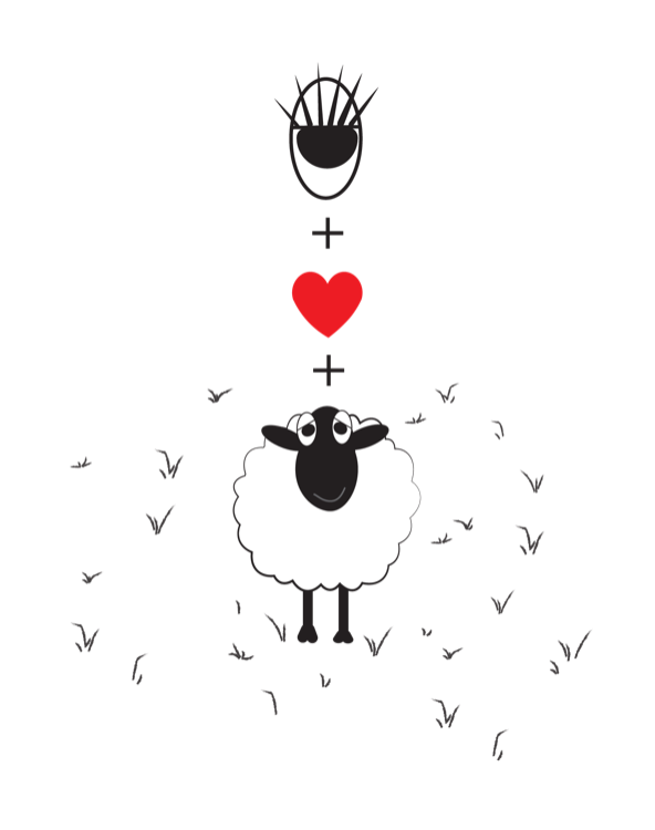 Note Cards - Eye+love+Ewe